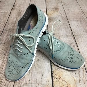 Cole Haan Zero Grand Wingtip Oxford Sneakers 7.5